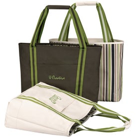 Cape Cod Reversible Tote Bag for Promotion