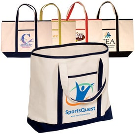 Cape Hatteras Boat Tote - Cotton for Promotion
