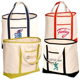 Branded Cape Hatteras Boat Tote - Cotton