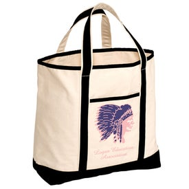 Cape Hatteras Boat Tote - Cotton for Your Organization