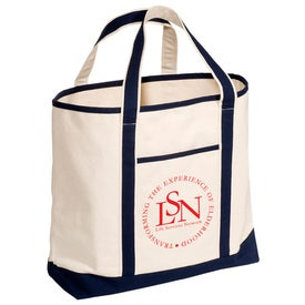 Logo Cape Hatteras Boat Tote - Cotton