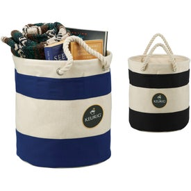 Capri Cotton Storage Tote Bag