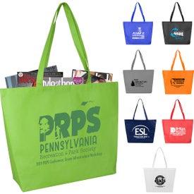 Carolina Large Gusseted Shopping Tote Bag