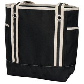 Catamaran Zip Tote Bag with Your Slogan