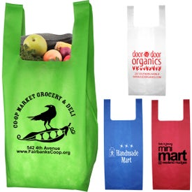 Caveat Lightweight T-Shirt Style Shopping Tote Bag