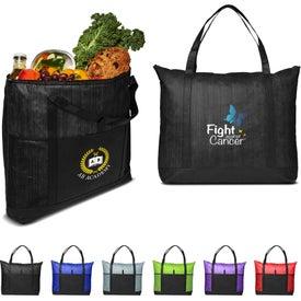 Cedar Non-Woven Cooler Tote Bag