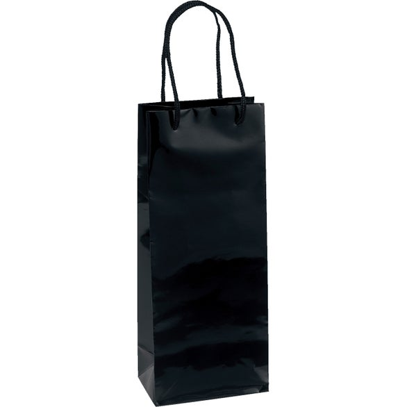 Black Chablis Laminated Eurotote Bag