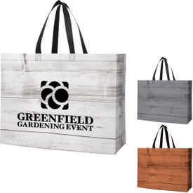 Chalet Laminated Non-Woven Tote Bags