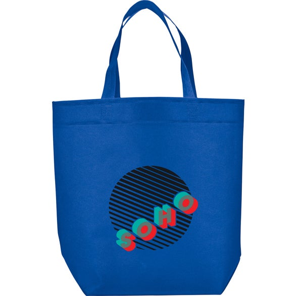Royal Blue Challenger Non-Woven Shopper Tote Bag