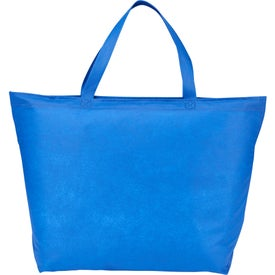Challenger Zippered Non-Woven Tote Bags