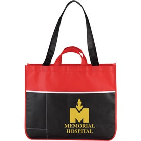 The Change Up Meeting Tote Bag for Advertising