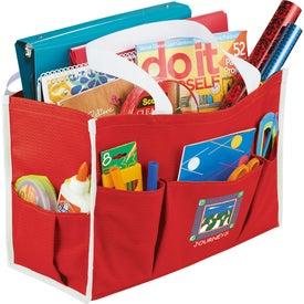 Chevron Multi Purpose Tote Bag for Your Organization