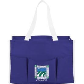 Logo Chevron Multi Purpose Tote Bag