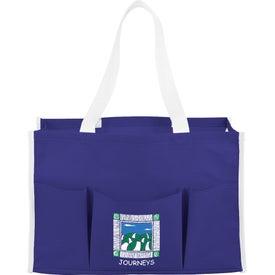Logo Chevron Multi Purpose Tote Bag
