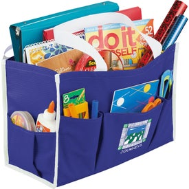 Advertising Chevron Multi Purpose Tote Bag