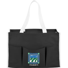 Chevron Multi Purpose Tote Bag Branded with Your Logo