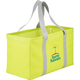Chevron Oversized Carry All Tote Bag Giveaways