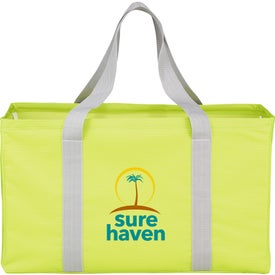 Customized Chevron Oversized Carry All Tote Bag