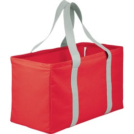 Advertising Chevron Oversized Carry All Tote Bag
