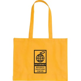 Cirque Textured Tote Bag Imprinted with Your Logo