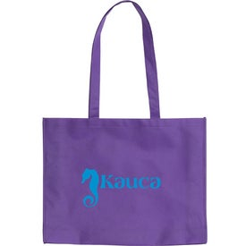 Branded Cirque Textured Tote Bag