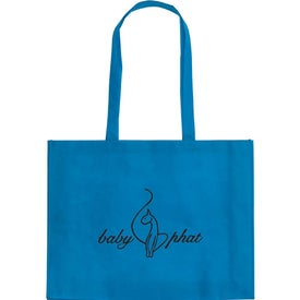 Customized Cirque Textured Tote Bag