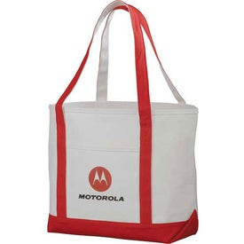 Premium Heavy Weight Cotton Boat Tote with Your Logo