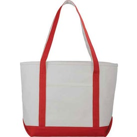 Customized Premium Heavy Weight Cotton Boat Tote