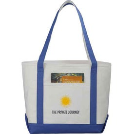Premium Heavy Weight Cotton Boat Tote Branded with Your Logo