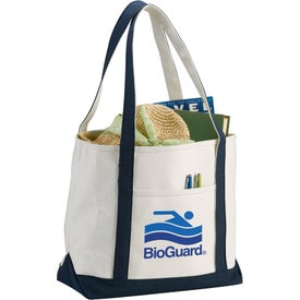 Premium Heavy Weight Cotton Boat Tote for Promotion