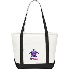 Premium Heavy Weight Cotton Boat Tote for your School