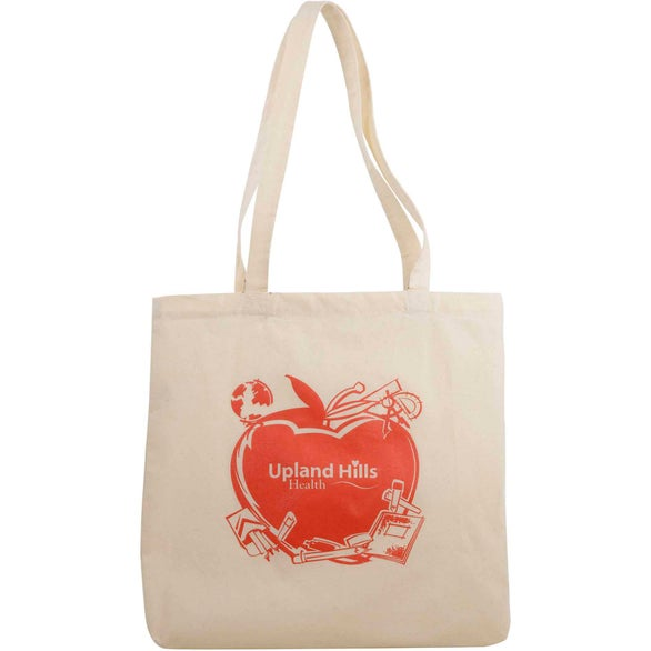 Natural Classic Cotton Meeting Tote Bag