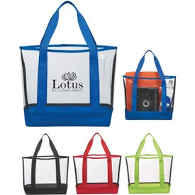 Clear Casual Tote Bags