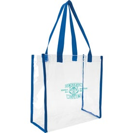Clear Game Tote Bag for Your Company