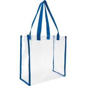 Clear Game Tote Bag Printed with Your Logo