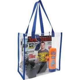 Custom Clear Game Tote Bag