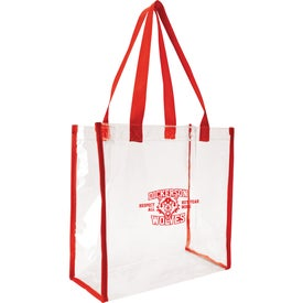 Personalized Clear Game Tote Bag