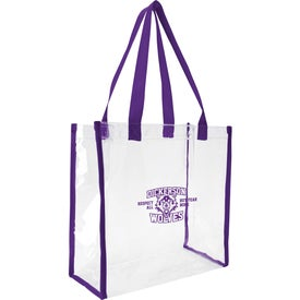 Clear Game Tote Bag Giveaways