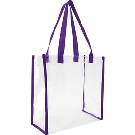Clear Game Tote Bag for Marketing