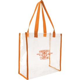 Customized Clear Game Tote Bag