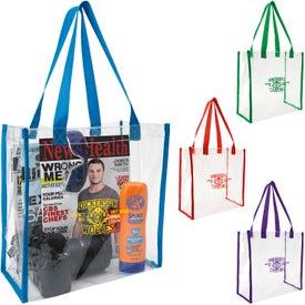 Clear Game Tote Bag