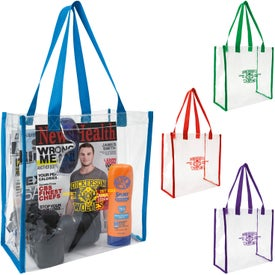 Clear Game Tote Bags