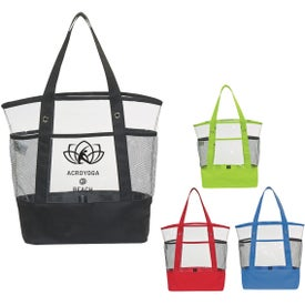 Clear Pocket Tote Bag