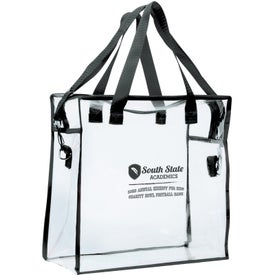 Advertising Clear Stadium Bag
