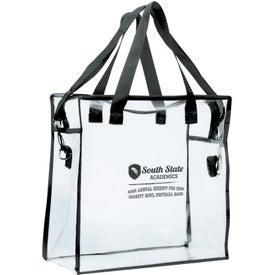 Advertising Clear Stadium Bag