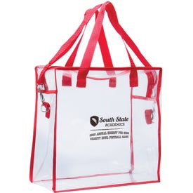 Clear Stadium Bag Branded with Your Logo