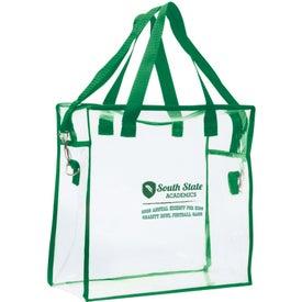 Printed Clear Stadium Bag