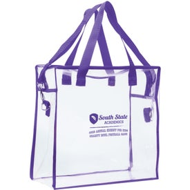 Clear Stadium Bag Printed with Your Logo