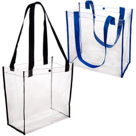 Promotional Clear Stadium Tote Bag