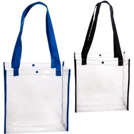 Clear Stadium Tote Bag for Promotion